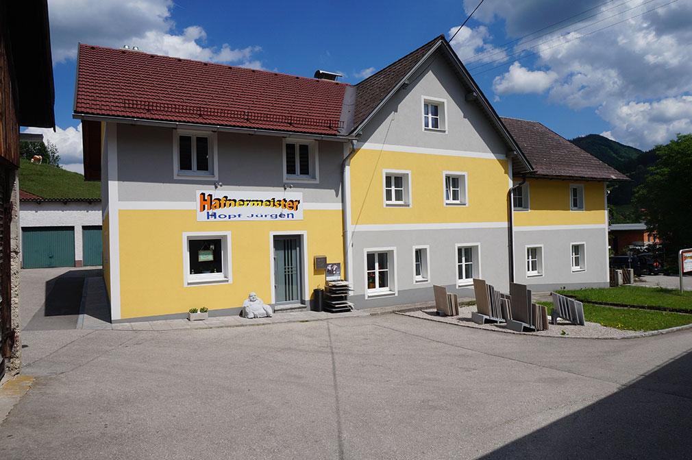 Firmengebäude von Hafner und Fliesenleger Hopf in Gaflenz